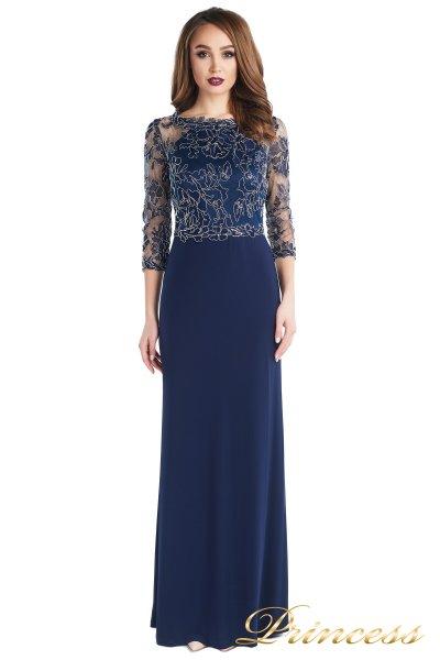 Вечернее платье 2132 (синий)