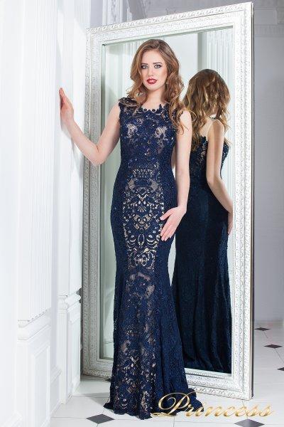 Вечернее платье 214138 (синий)