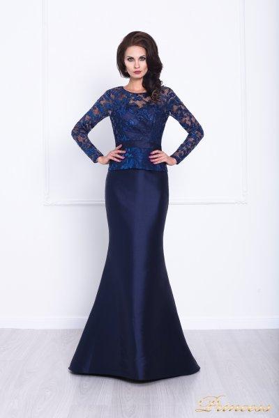 Вечернее платье 215012 (синий)