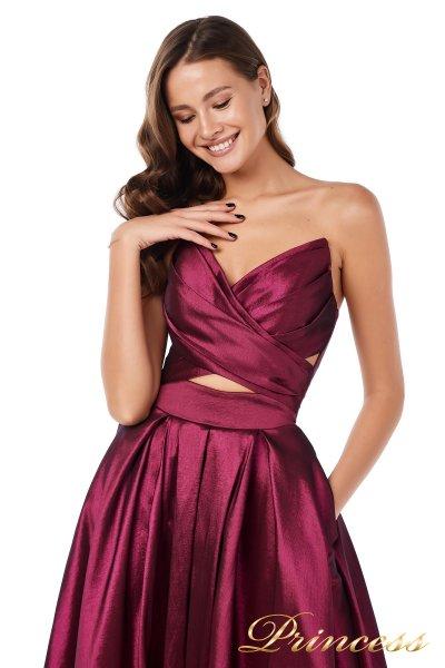 Вечернее платье 227511 M (marsala)