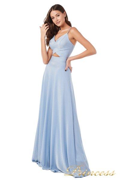 Вечернее платье 227503 b (голубой)