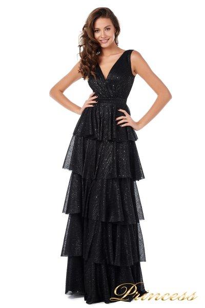 Вечернее платье 227604-black (чёрный)