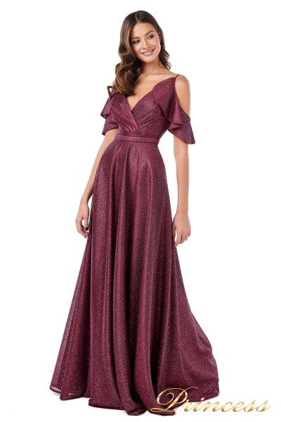 Вечернее платье 227606 W (marsala)
