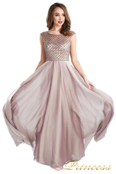 Вечернее платье 24166-186 pink (розовый)