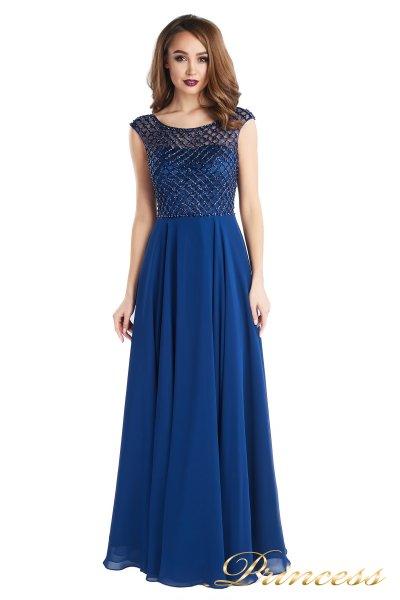 Вечернее платье 24166-240B navy (синий)
