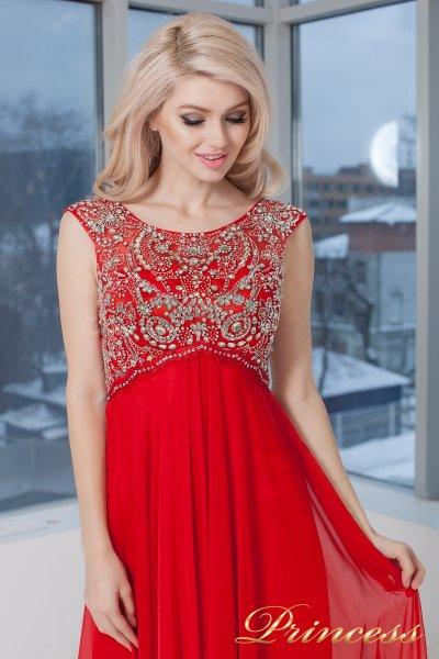 Вечернее платье 2630-2 RED  (красный)