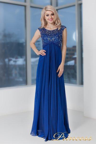 Вечернее платье 2630 N (электрик )