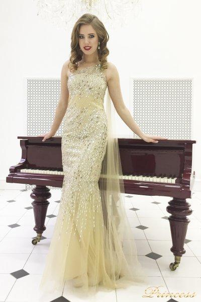 Вечернее платье 264 (золото)