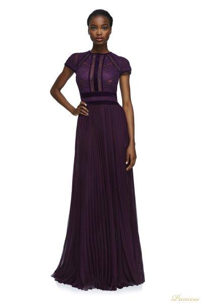 Вечернее платье Tadashi Shoji AYV17705L AUTUMN (фиолетовый)