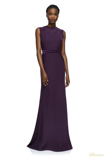 Вечернее платье Tadashi Shoji AYV17801LX AUTUMN (фиолетовый)