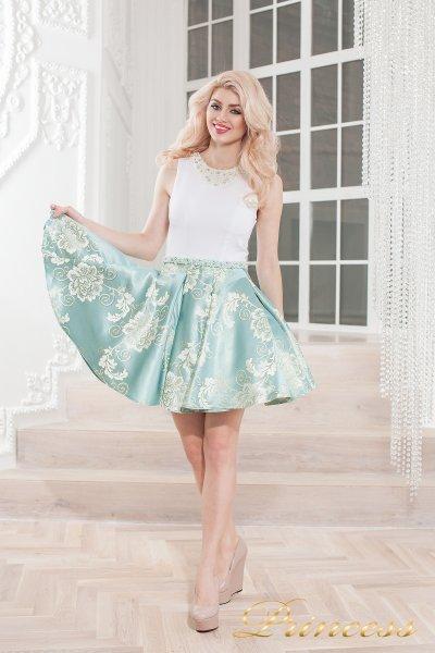 Вечернее платье 359 blue (голубой)