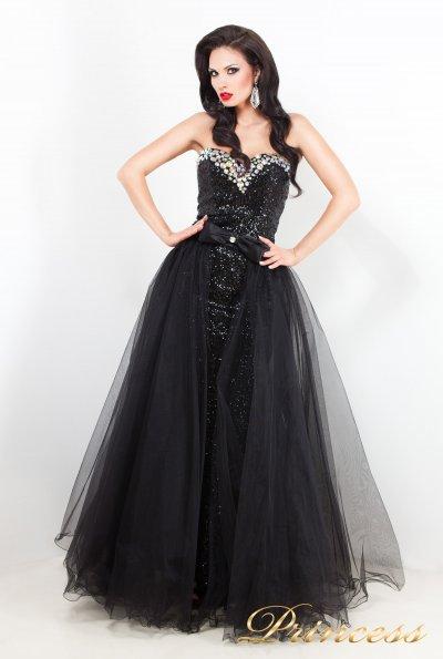 Вечернее платье 3614 (чёрный)