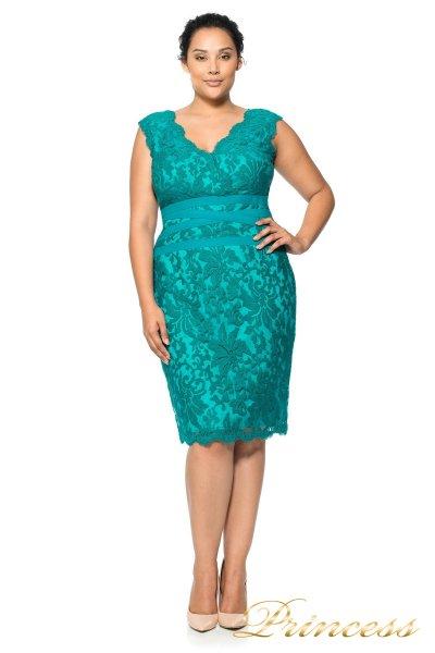 Коктейльное платье 896 MXA (зеленый)