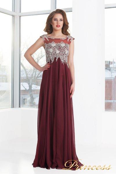 Вечернее платье 4675 - Marsala (красный)