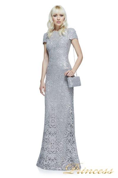 Вечернее платье Tadashi Shoji  AZZ16575L PEWTER (стальной)