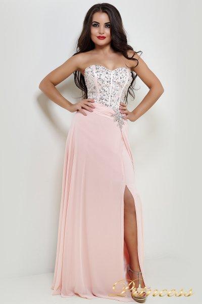 Вечернее платье 50988 (розовый)
