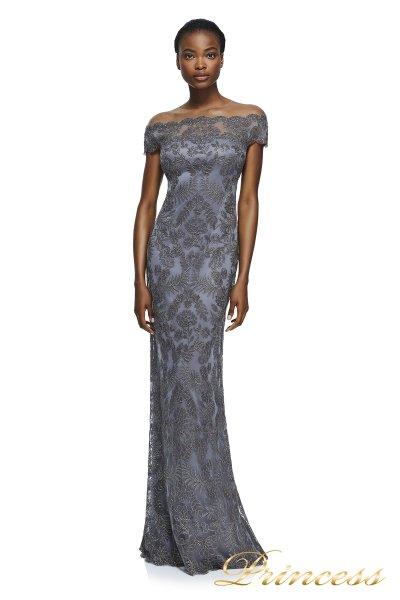 Вечернее платье AUL17021L DARKPEARL (серый)