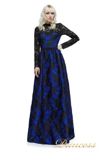Вечернее платье AYT17708L_RYLBK (чёрный)
