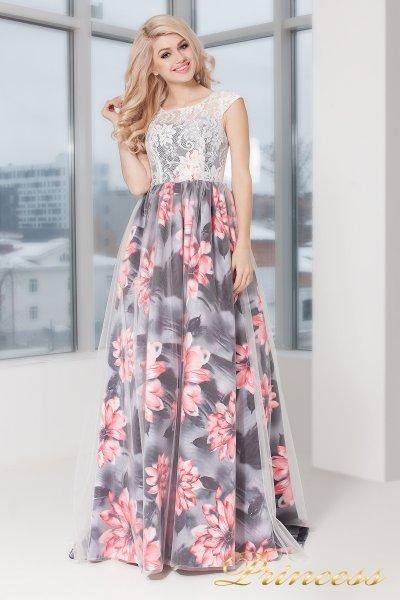 Вечернее платье 5520 (розовый)