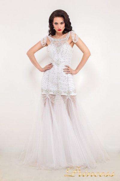 Свадебное платье 614046 (белый)