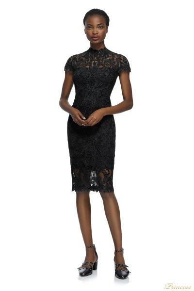 Коктейльное платье ALX16511M BLACK (чёрный)