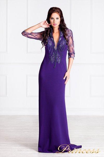 Вечернее платье 68070 (фиолетовый)
