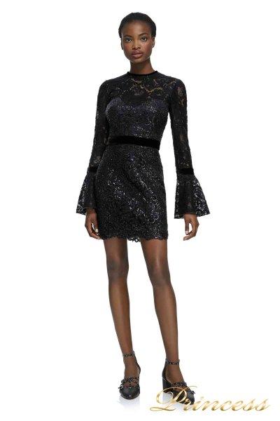 Коктейльное платье AZZ17569S BLACK (чёрный)