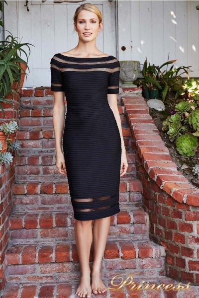 Вечернее платье 6L18106M BLACK (чёрный)