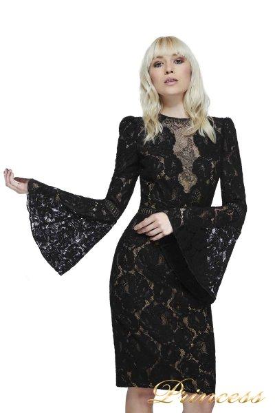 Коктейльное платье AYV17735M BK ND (чёрный)