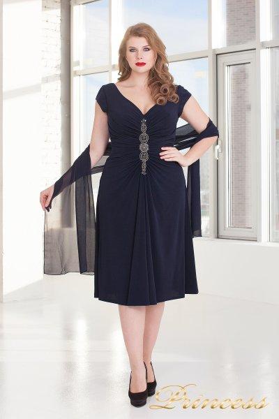 Вечернее платье 720 NAVY (синий)