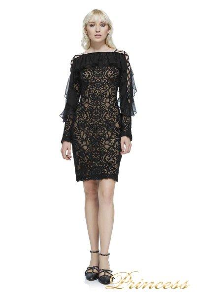 Вечернее платье AZY17626M BK ND (чёрный)