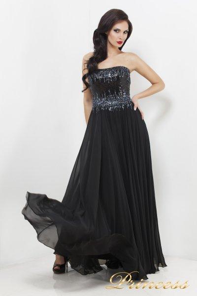 Вечернее платье 7983B (чёрный)