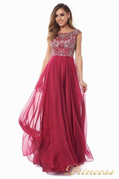 Вечернее платье 80824-052 marsala (красный)
