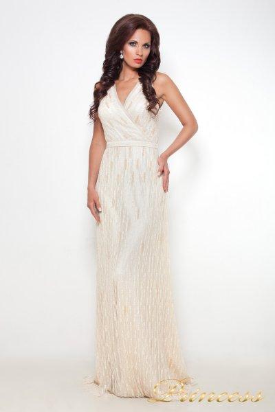 Вечернее платье 8126 (шампань)