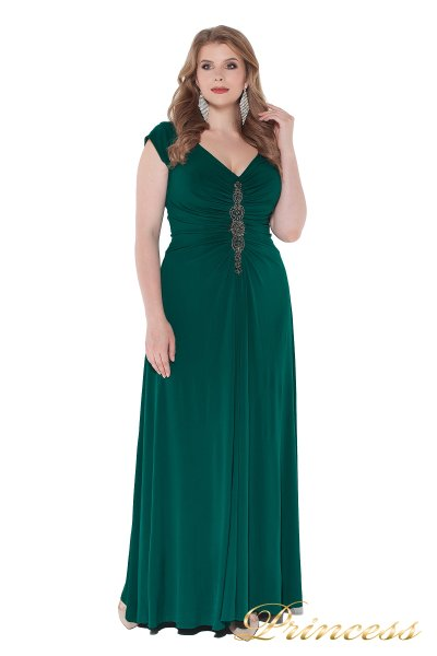 Вечернее платье 826 Green (зеленый)