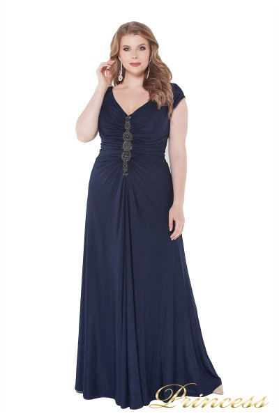Вечернее платье 826 Mazarine (синий)