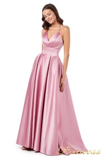 Вечернее платье 852597 (розовый)
