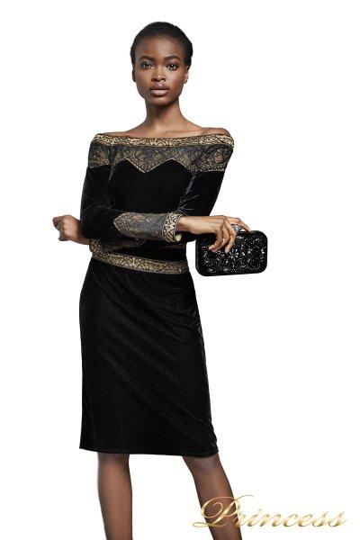 Вечернее платье BAL17653M CL23VEB (чёрный)