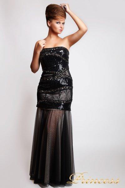 Вечернее платье  8658 (чёрный)