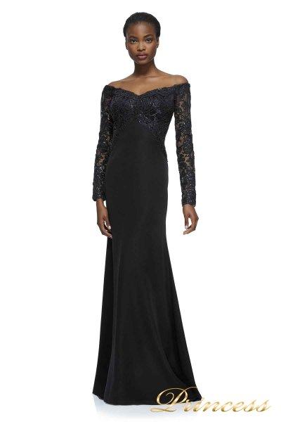 Вечернее платье AZZ17810L BLACK  (чёрный)