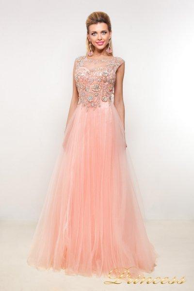 Вечернее платье 9063 (розовый)