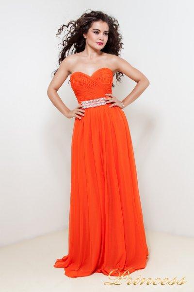 Вечернее платье 90975Y (стальной)