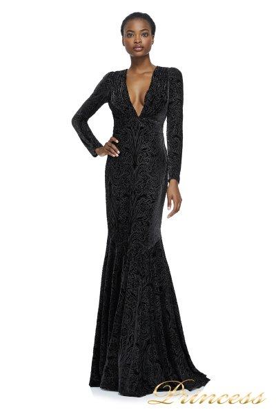 Вечернее платье Tadashi Shoji AZG17663L_BLACK (чёрный)