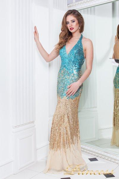 Вечернее платье 9601 (золото)
