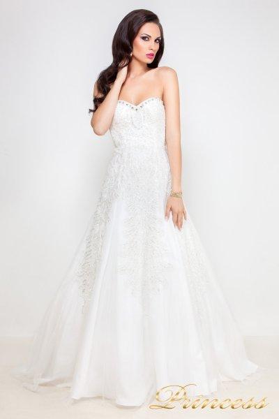 Свадебное платье 96116W (белый)