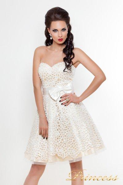 Платье на выпускной 78359N (белый)