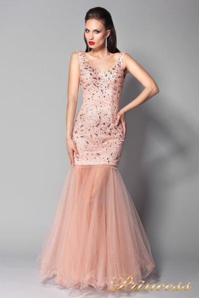 Вечернее платье 96139LP (розовый)