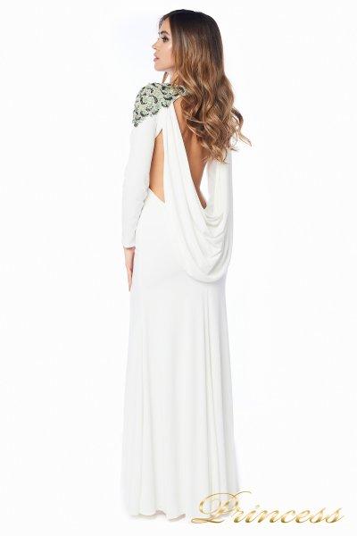 Вечернее платье 98498 white (пастельный)