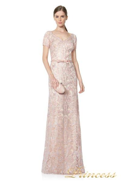 Вечернее платье ALX16372L (розовый)