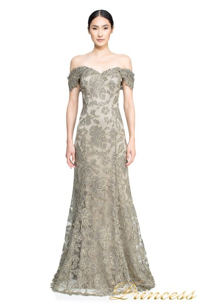 Вечернее платье ART16367L (стальной)